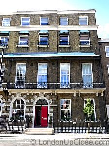 Asia House is located in Marylebone, in a fine Adam-style 18th century town house.