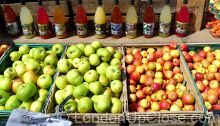 Top quality apples and juices from Chegworth Valley on Marylebone Farmers' Market