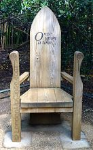 The Story Chair at the Princess Diana Memorial Playground: Once upon a time...