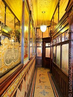 Tiles, mirrors, mosaics and an ornate ceiling - walking into the Princess Louise Pub in Holborn is like entering a jewel box.